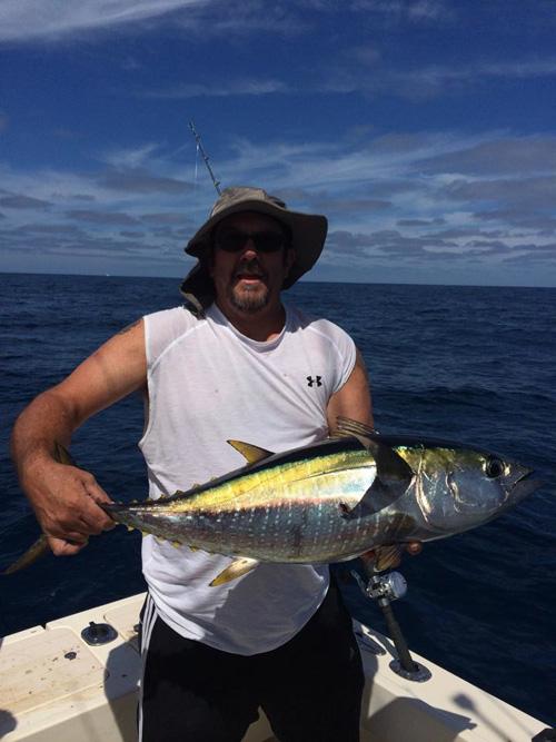 Ken, Yellowfin, danapointsportfishing
