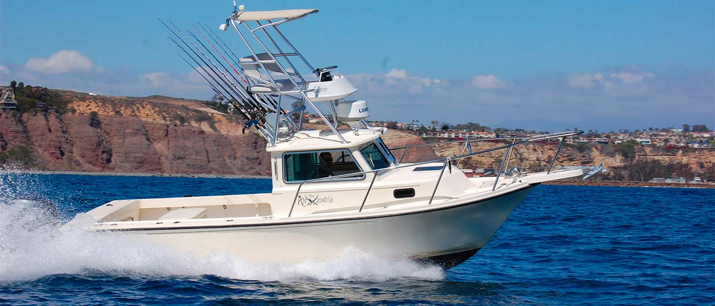 dana point sportfishing private fishing charters in dana